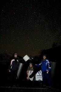 Gruppenfoto Astronomie IAAZ