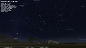 Polaris am 27.02.2012 um 1900 Uhr
